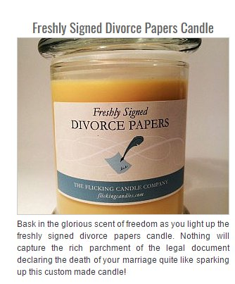 85511663 divorce paper scented candle best candle 2017