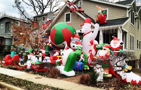 Christmas Decorations Gone Bad - Gallery