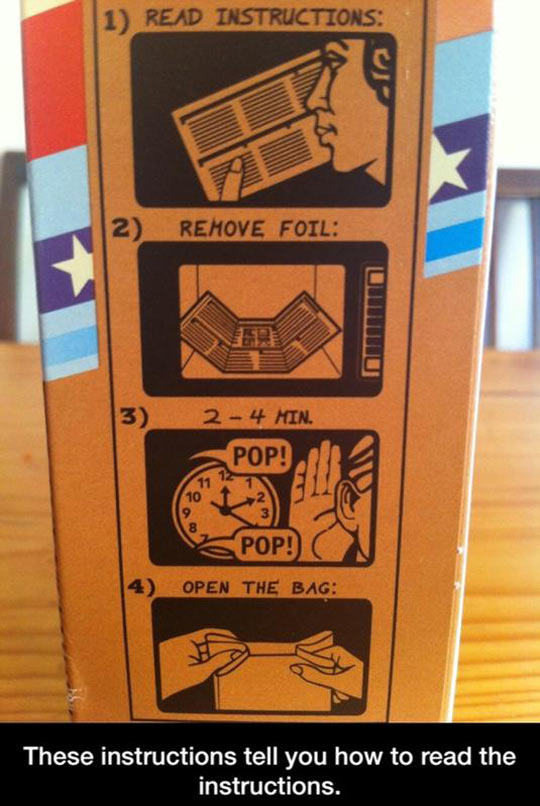 7 - 20 Sets of Instructions that Direct You to Laugh