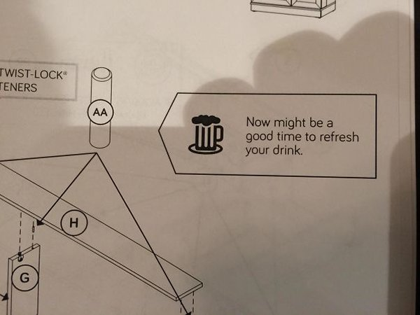13 - 20 Sets of Instructions that Direct You to Laugh