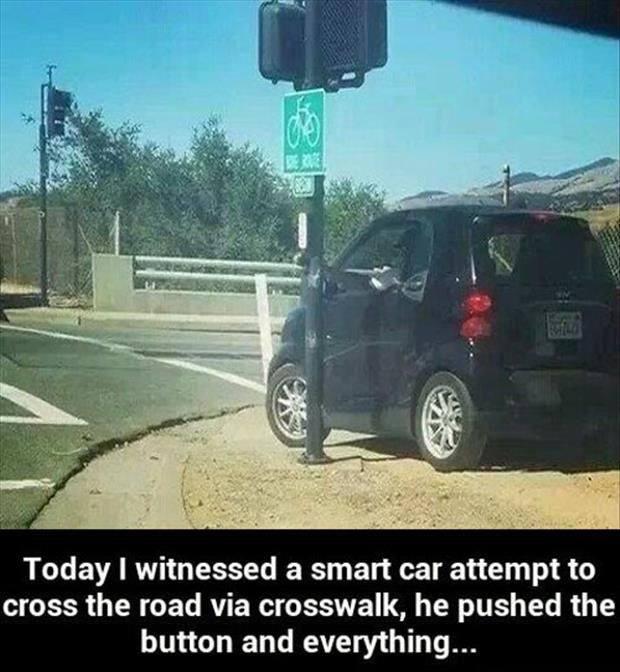 3 - Driving weirdness