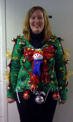 Ugly Christmas Sweaters Gallery Ebaums World