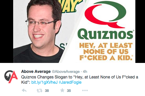 9 Jared Fogle Jokes That Are WAY Too Soon Wow Gallery eBaums World