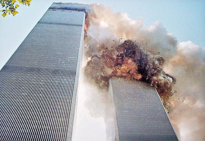 5 - Explostions on one of the towers on Sept 11th