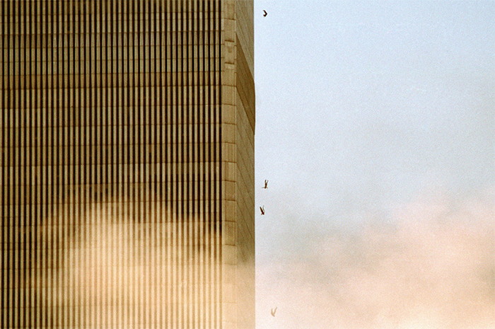 9 - People falling from the towers on September 11th, 2001