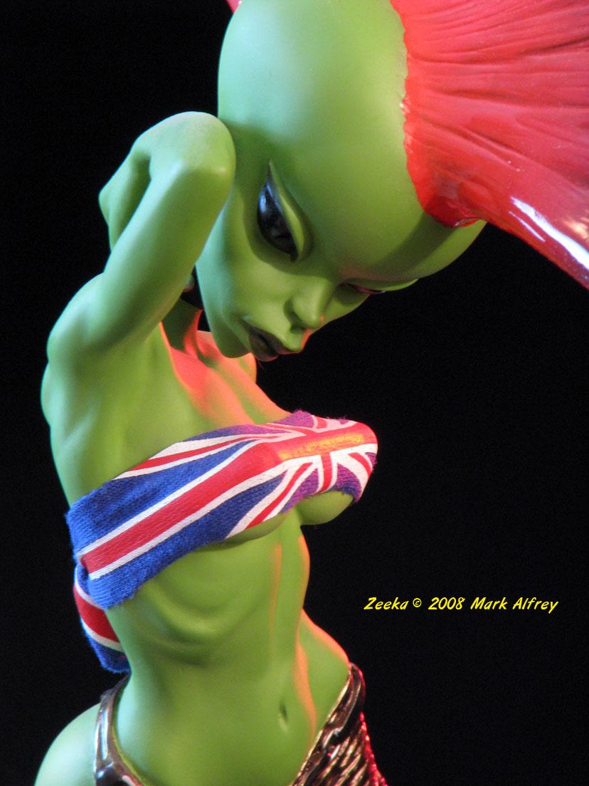 from Oakley hot naked alien girl