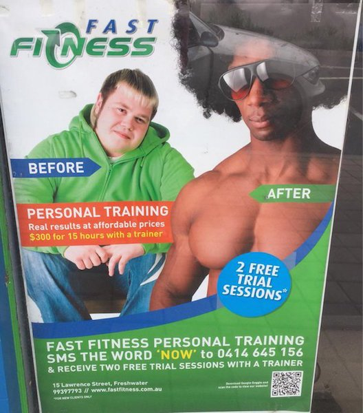 1 - A gym membership that changes your race.