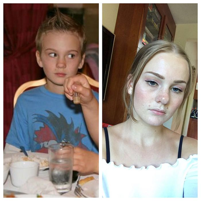 12 - 25 People That Went Through Amazing Transformations After Puberty