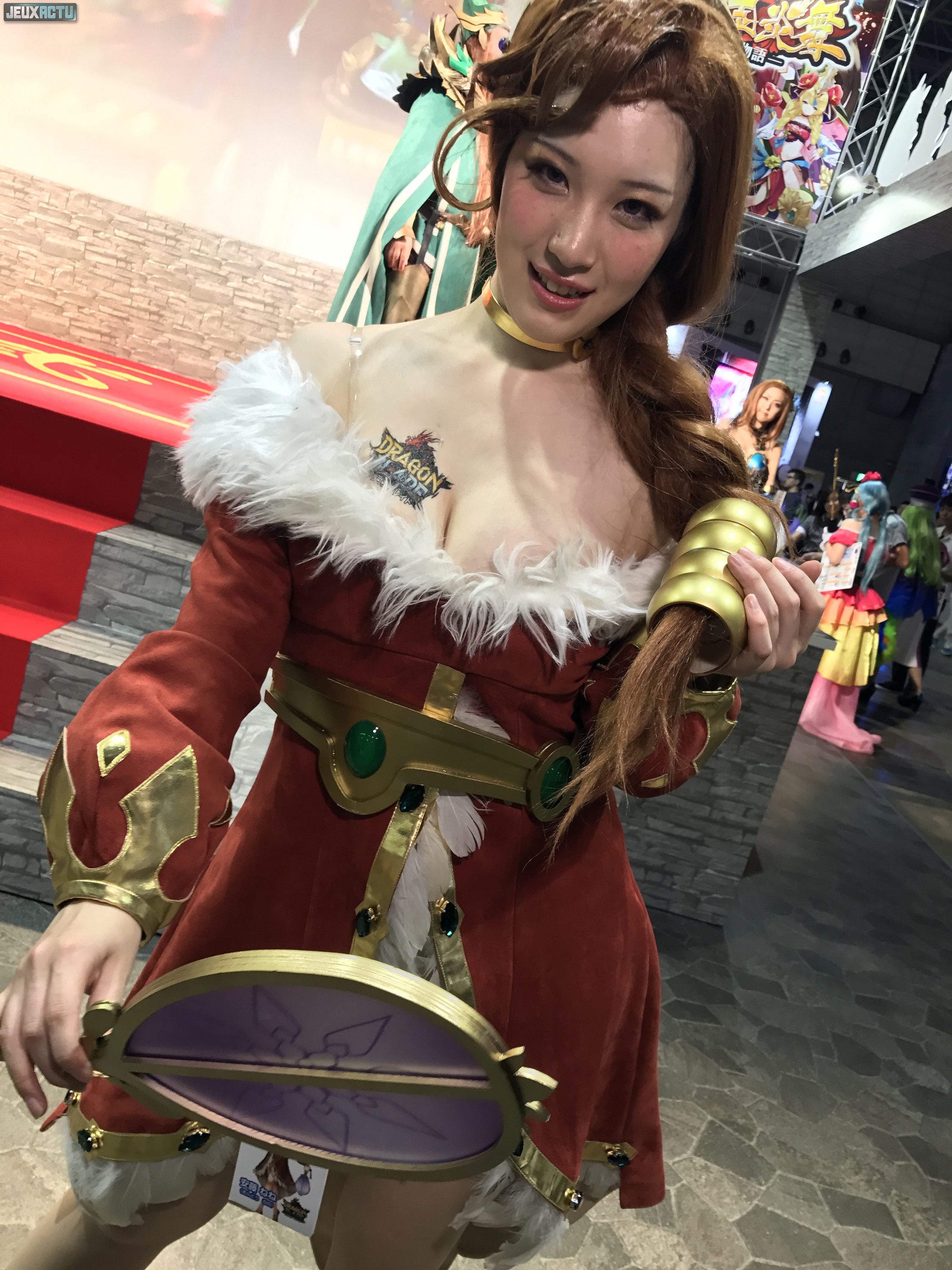 20 cute asian booth babes at tokyo game show 2017 - wow gallery