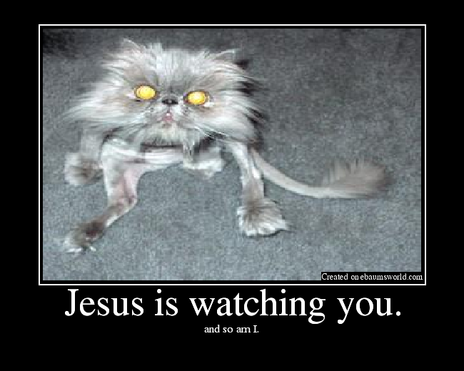 Jesus Is Watching You. - Picture