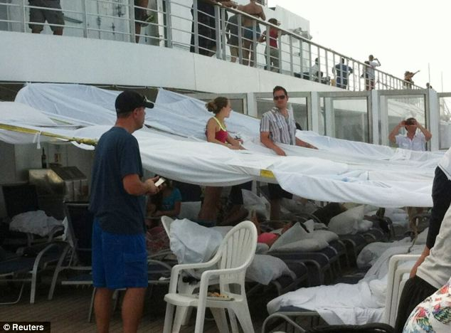Pictures From Inside Stranded Carnival Cruise Ship Triumph