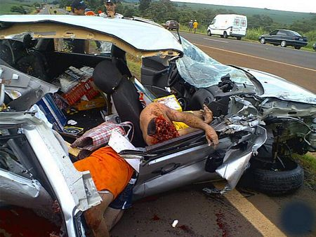 Accident  Photo on Gruesome Car Accident