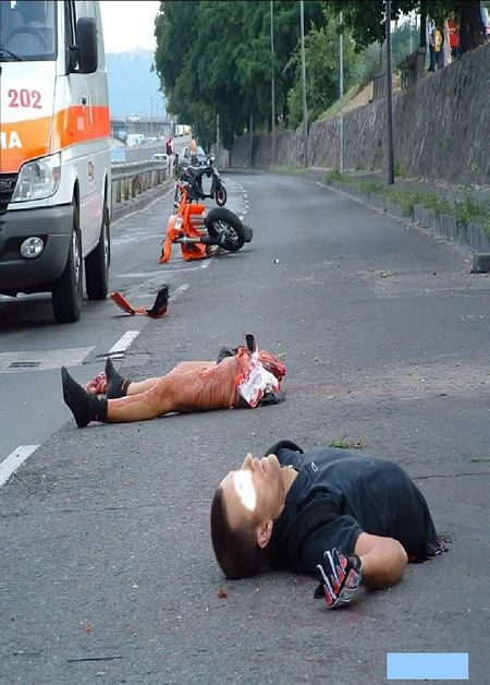 Fatal Motorcycle accident - Gallery | eBaum's World