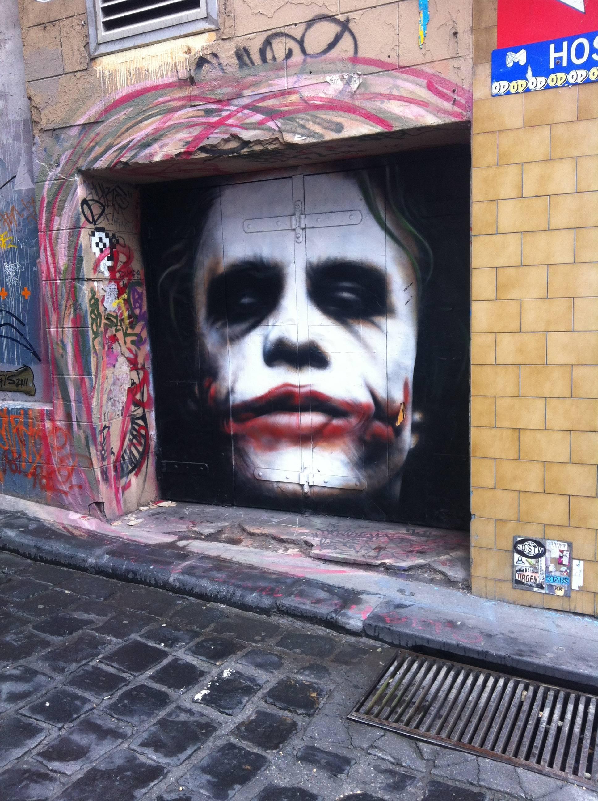 Amazing Joker Graffiti - Picture | eBaum's World