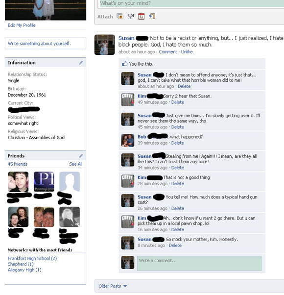 Funny Facebook Hacked Accounts - Gallery