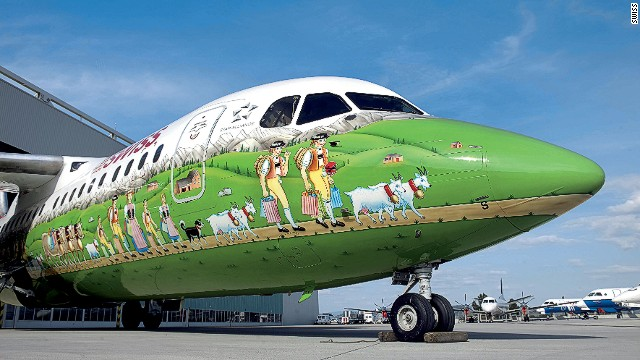 3 - 32 Airplanes With Awesome Paint Jobs