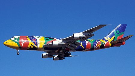 30 - 32 Airplanes With Awesome Paint Jobs