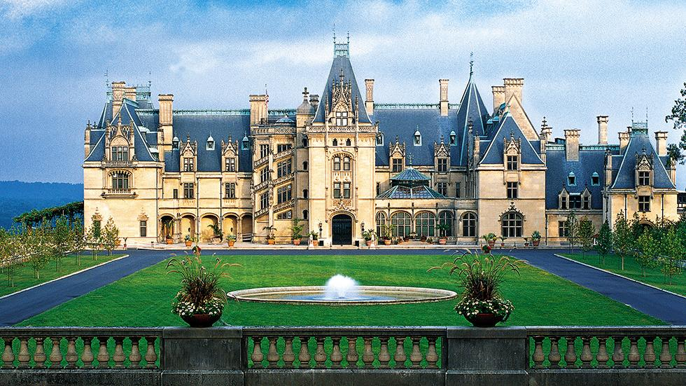 1 - Wanna see a French Chateau? Just go to Biltmore Estate, Asheville, NC.