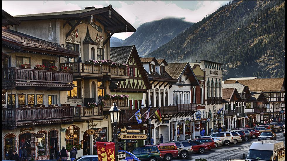 5 - Wanna see an Alpine village? Just go to Leavenworth, WA
