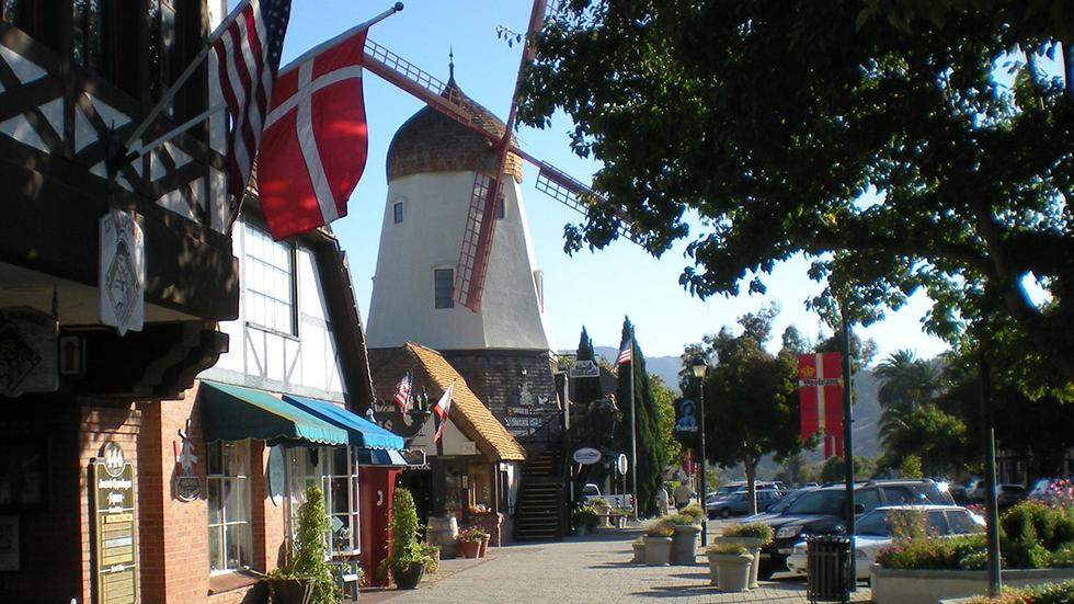 12 - Wanna see a Danish village? Just go to Solvang, CA.