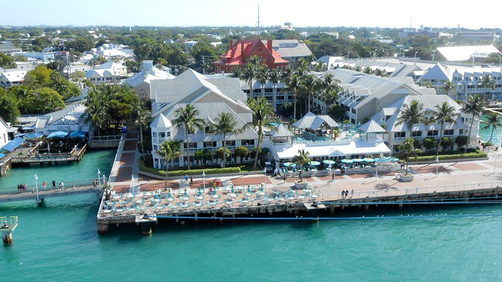 13 - Wanna see the Caribbeans? Just go to Key West, FL.