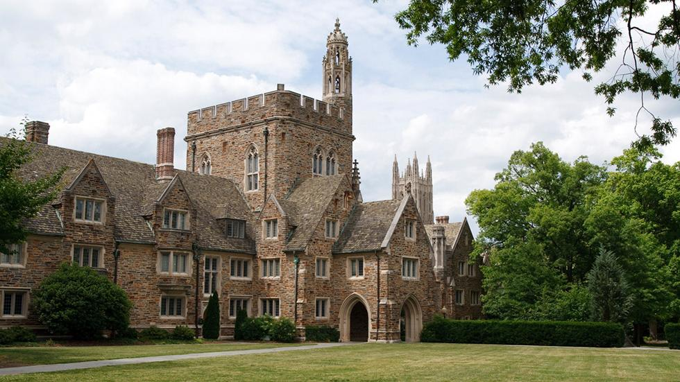 21 - Wanna see a Gothic castle? Just go to Duke University, Durham, NC.