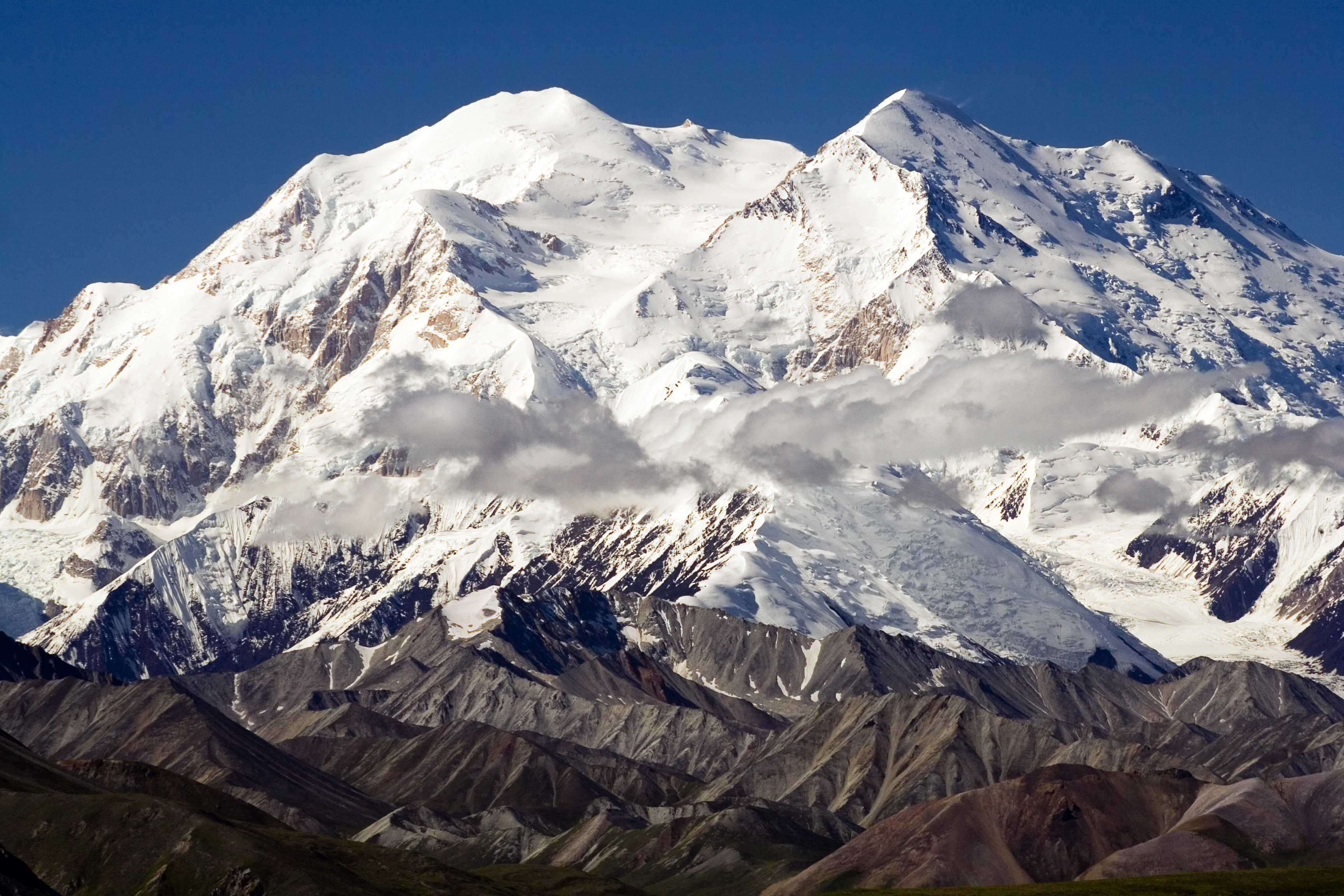 23 - Wanna climb Mount Everest? Just go to Mount Mckinley, AK. It's a pretty tall mountain, and only about 9,000 feet shorter than Everest.