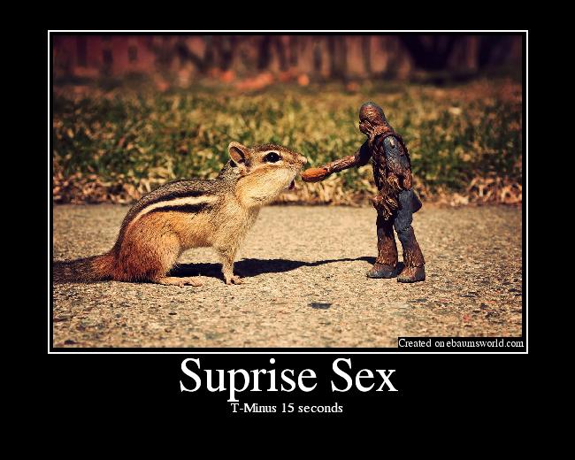 Suprising sex