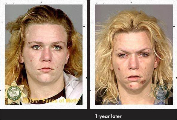 The progression of amphetamine usage
