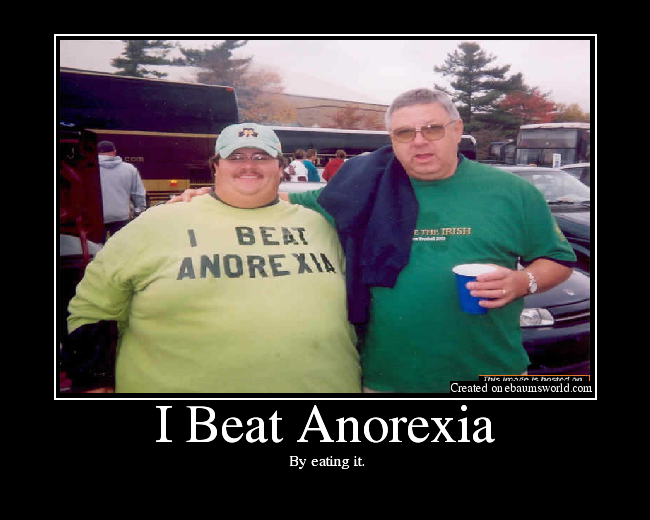 I Beat Anorexia Picture Ebaum S World