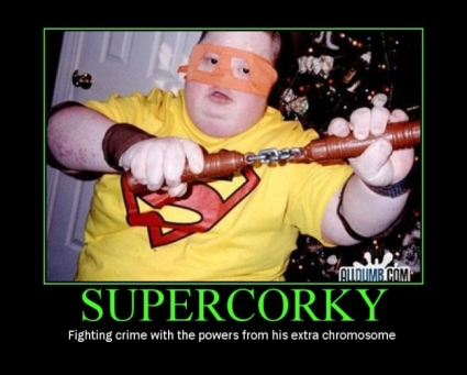 Corky retard