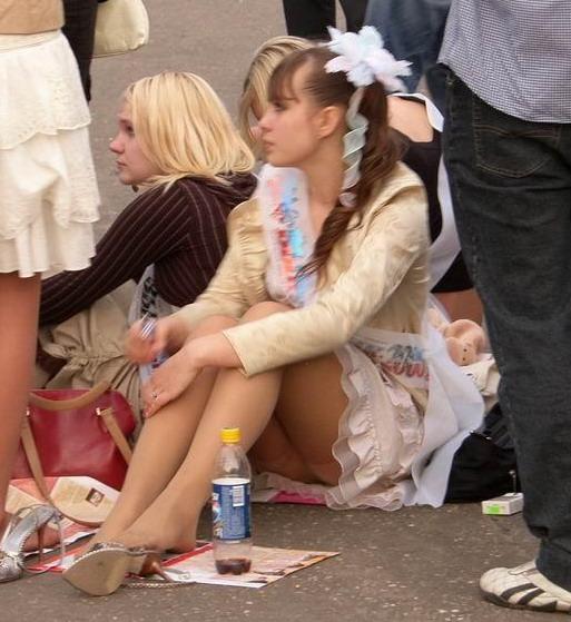 Russian Schoolgirls In Pantyhose