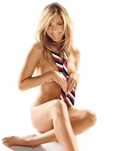 aniston nude Jennifer gq