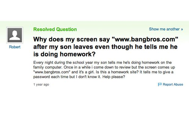 Most Ridiculous Questions To Be Asked On Yahoo Gallery EBaums - 50 ridiculous questions ever asked yahoo answers