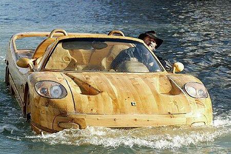 Wooden Ferrari Boat - Gallery | eBaum's World