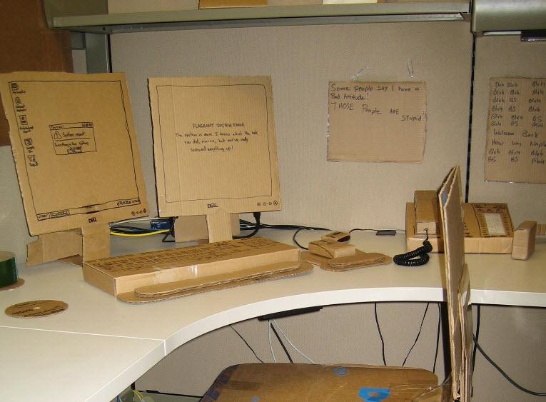 cardboard cubicle prank gallery ebaum s world