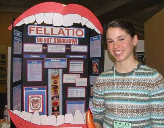 Weird high school science fair projects - Gallery | eBaum's World