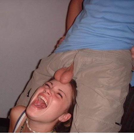 Girl gets teabagged porn pic 656