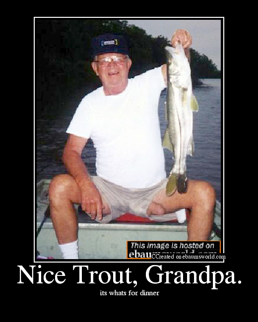 Grandpa dick hanging out