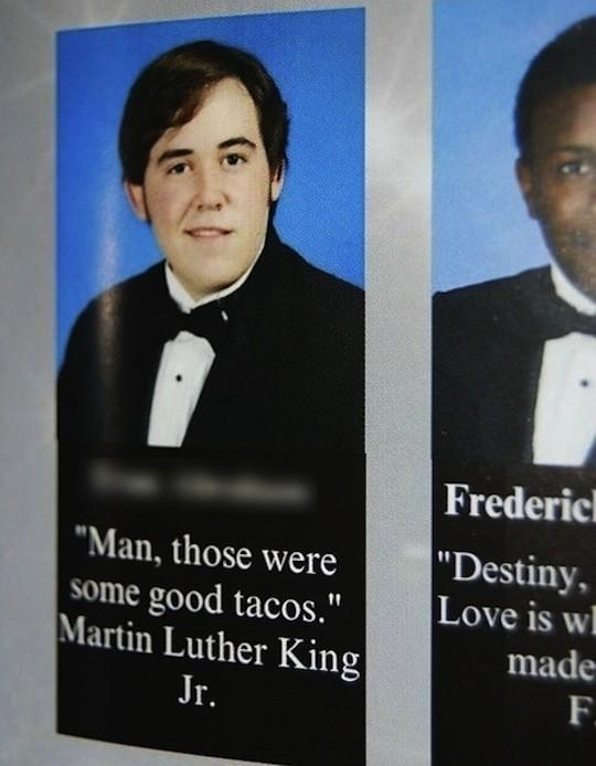 Awesome Yearbook Entries Gallery EBaums World - The 28 funniest yearbook quotes of all time
