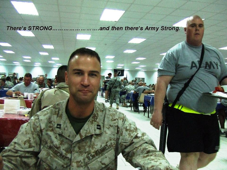 Fat Army Guy 104
