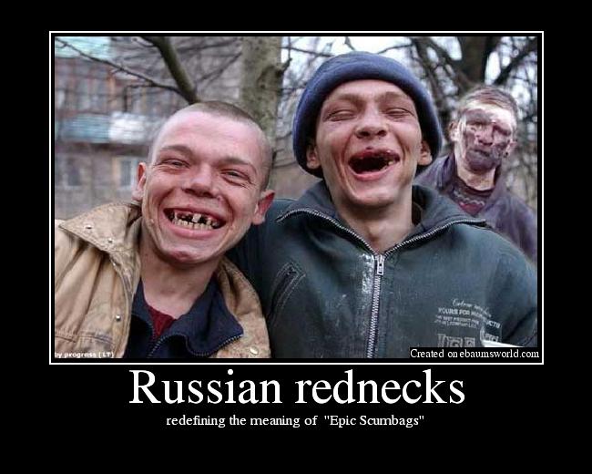 Russian rednecks