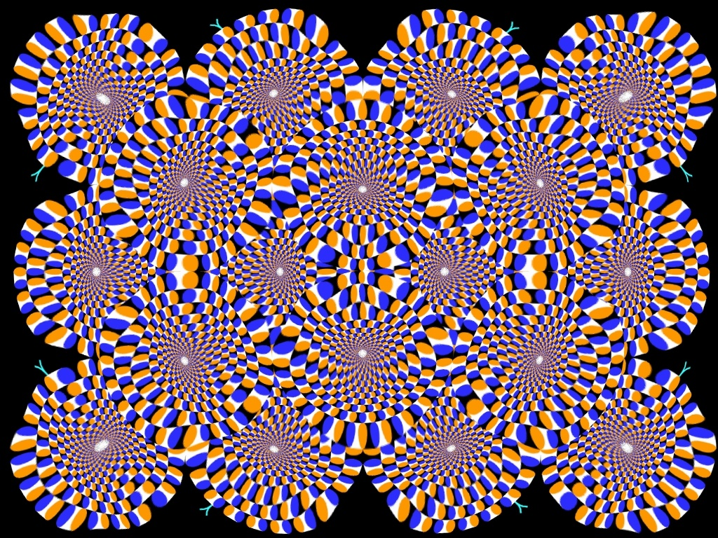 trippy illusion illusions optical moving eye tricks 3d magic trick crazy visual move backgrounds mind