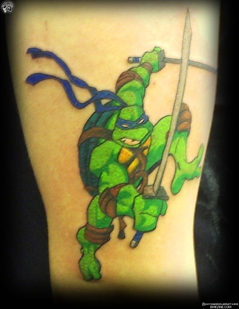 Teenage mutant ninja turtles tattoo picture ebaum 39 s world for Ninja turtles tattoo