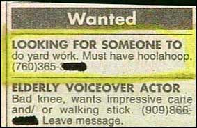 s adult news classifieds