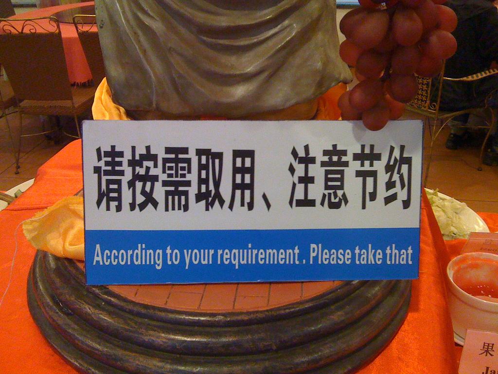 Chinglish: The Weird and Wonderful World of Chinese ...