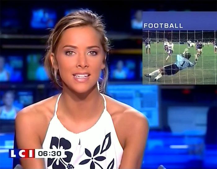 Reporter female nude sports