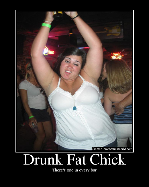 Drunk Fat Woman 81