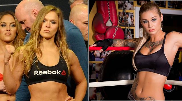 Ronda Rousey Parody Brazzer Porn