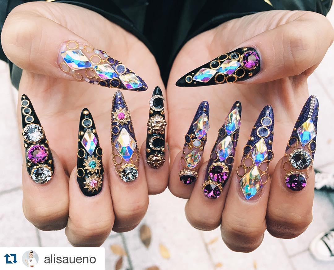 The Mad Manicures of the Tokyo Nail Expo 2015 - Gallery | eBaum\'s World